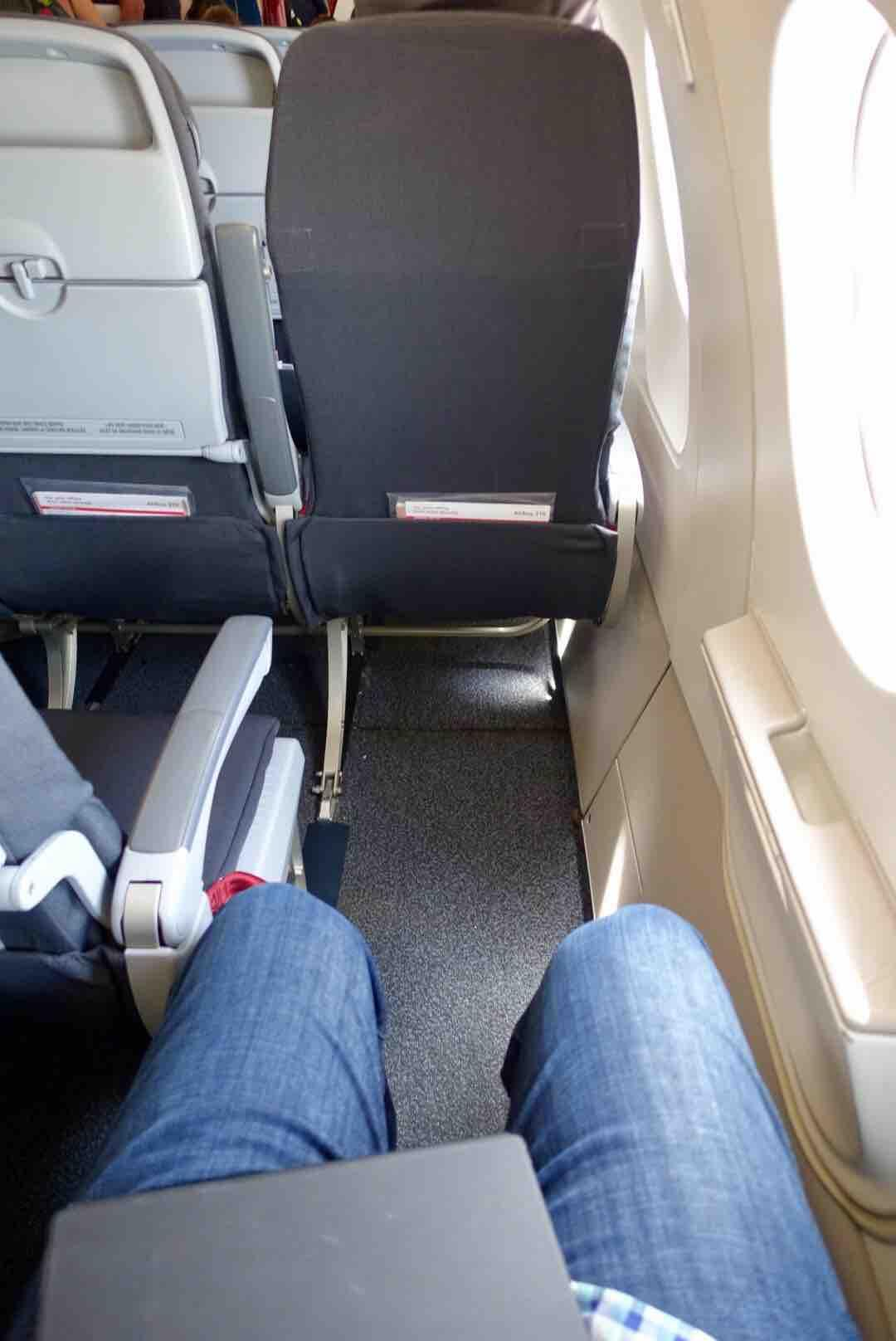 Airbus A319 100 Air Canada Rouge Premium Seats Exit Row Pitch Legroom