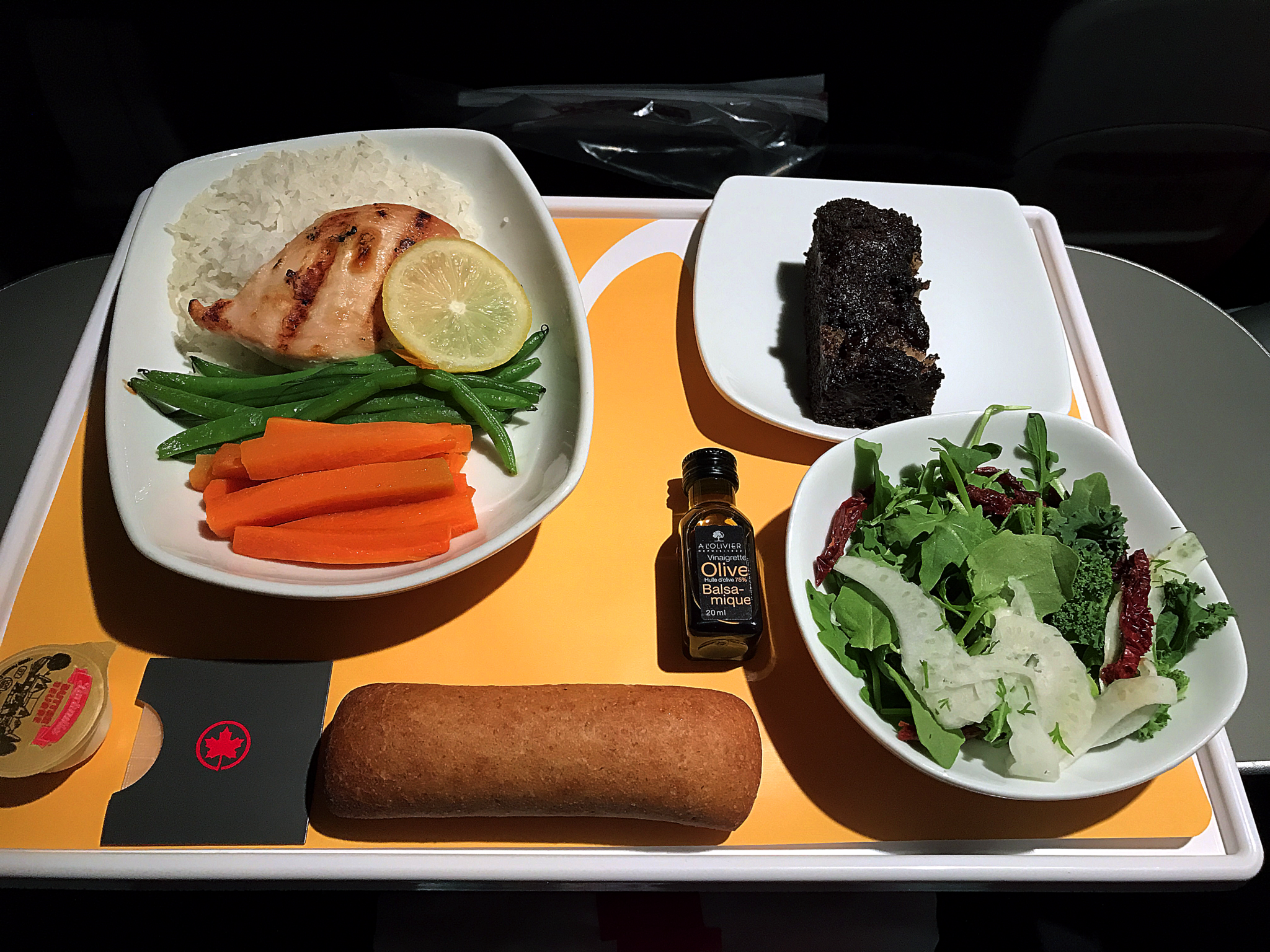 Airbus A319 100 Air Canada Rouge Premium Seats Inflight Amenities Food Meal Services