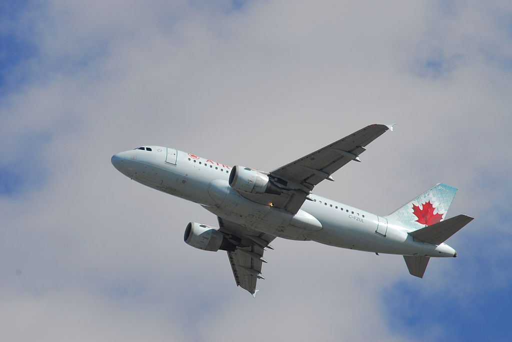 Airbus A319 114 cnserial number 721 Air Canada C FZUL Ottawa Macdonald–Cartier International Airport IATA YOW ICAO CYOW