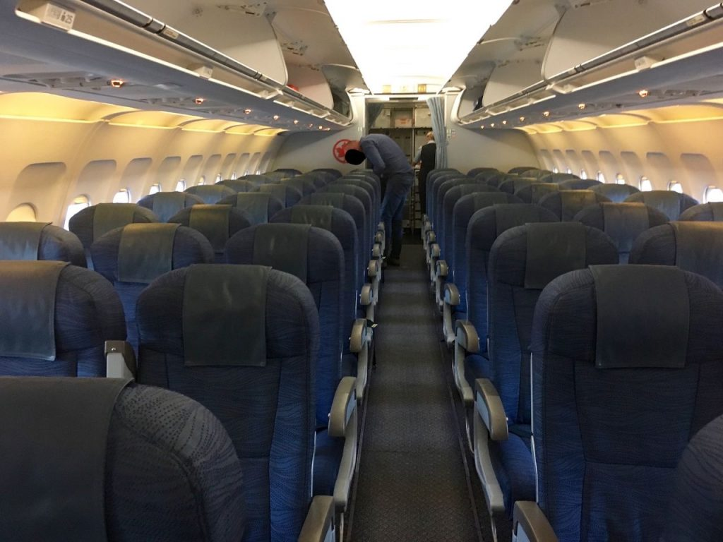 Airbus A320 200 Air Canada aircraft cabin inteterior configuration and seats layout photos