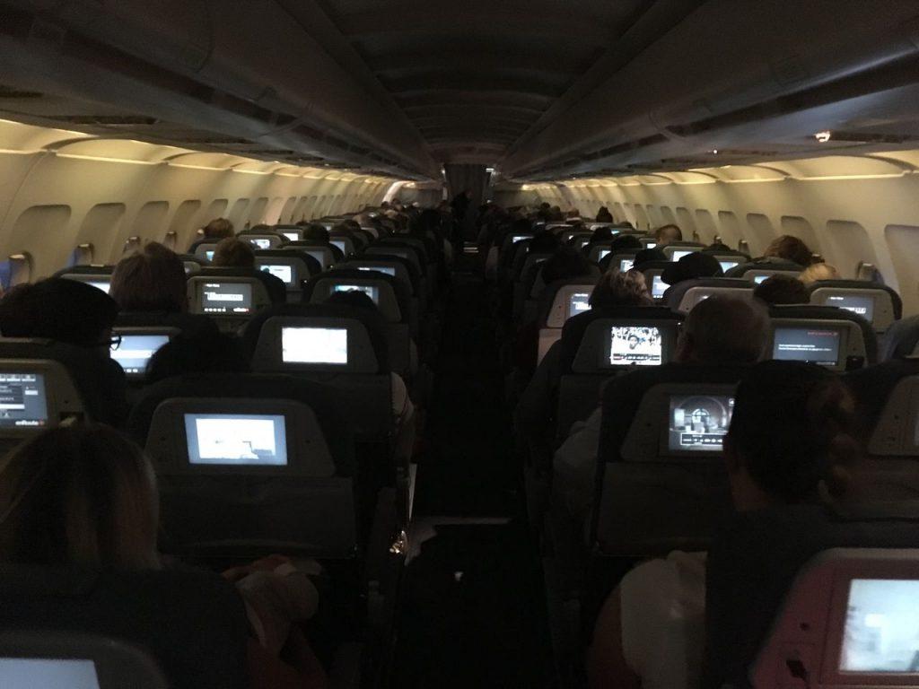 Airbus A320 200 Air Canada fleet cabin inflight photos