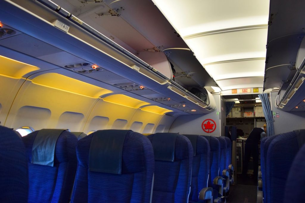 Airbus A320 200 Air Canada fleet economy class cabin photos