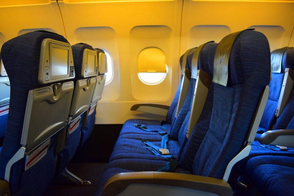 Airbus A320 200 Air Canada fleet economy class standard seats row 3 3 layout