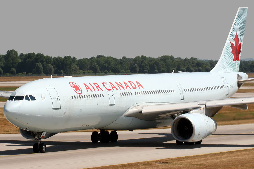 Airbus A330 343X Air Canada C GHKX at Munich EDDMMUC Airport