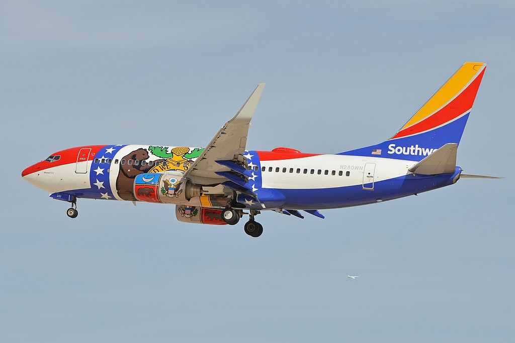 Boeing 737 73Vw N280WN on special livery Missouri One Southwest Airlines Aircraft Photos