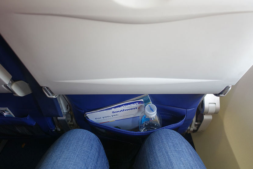Boeing 737 800 Southwest Airlines Economy Cabin Standard Coach Seats Pitch Legroom Photos