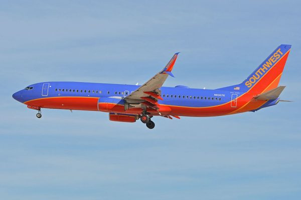 Southwest Airlines Fleet Boeing 737-800 Details and Pictures