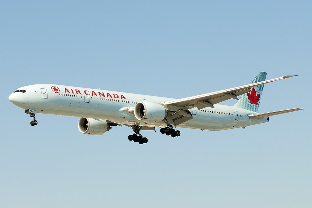 Boeing 777 300ER of Air Canada C FIUL Widebody Aircraft Photos