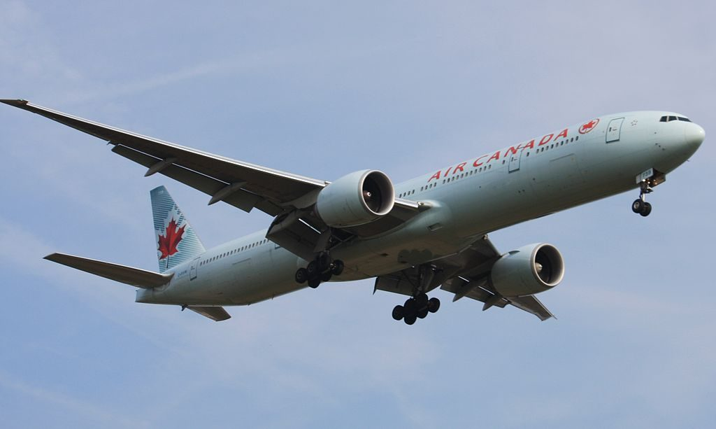 Boeing 777 333ER cn 35251 717 Air Canada C FIVM on final at London Heathrow LHR EGLL UK