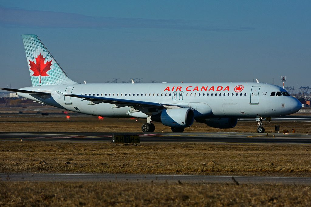 C FGJI Airbus A320 214 Air Canada leased from Macquairie Air Finance at Toronto Lester B. Pearson Airport YYZ