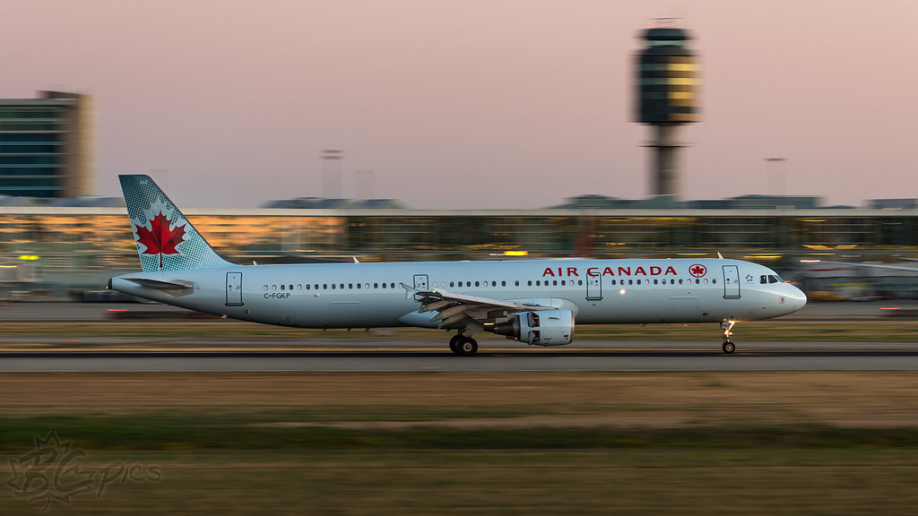 C FGKP Air Canada aircraft fleet Airbus A321 211 Formerly Air France F GTAV