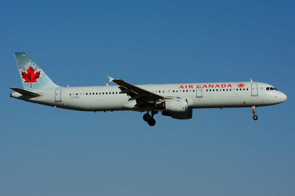 C FJNX Airbus A321 211 Air Canada leased from ApolloAviation at Toronto Lester B. Pearson Airport YYZ