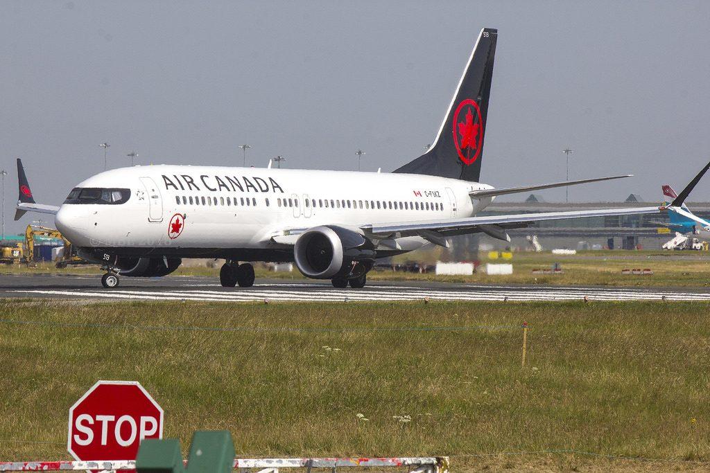 C FSKZ Air Canada Boeing B737 8 MAX CN 61219 Built 2018 DUBEIDW