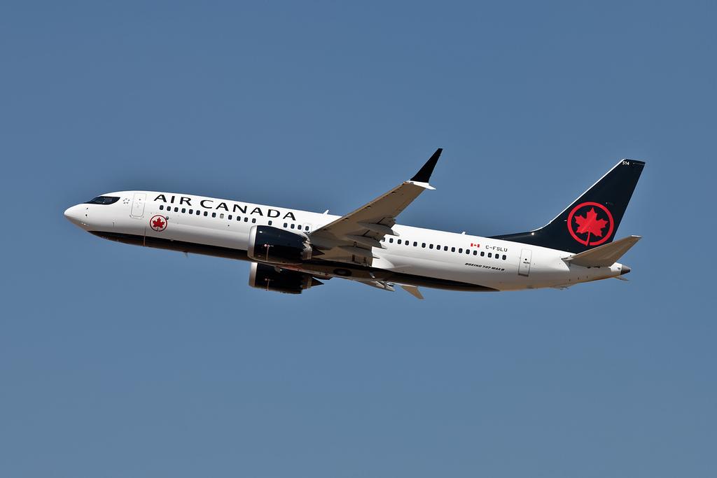 C FSLU Boeing 737 MAX 8 Air Canada Aircraft Fleet Photos