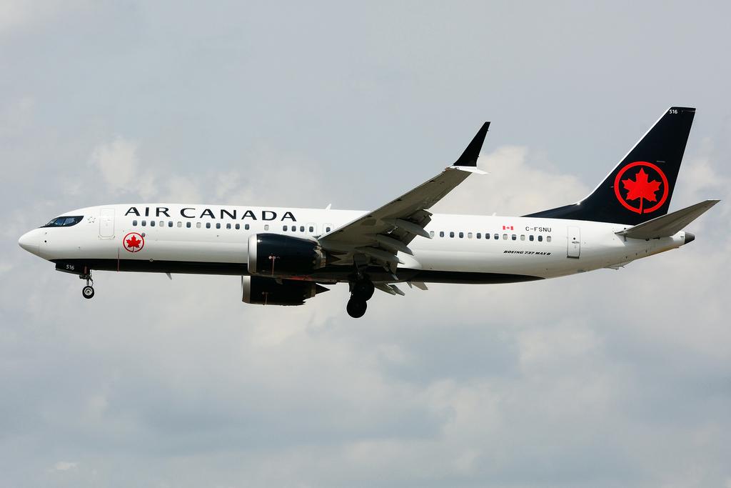 C FSNU Boeing B737 MAX 8 Air Canada at Toronto Lester B. Pearson Airport YYZ