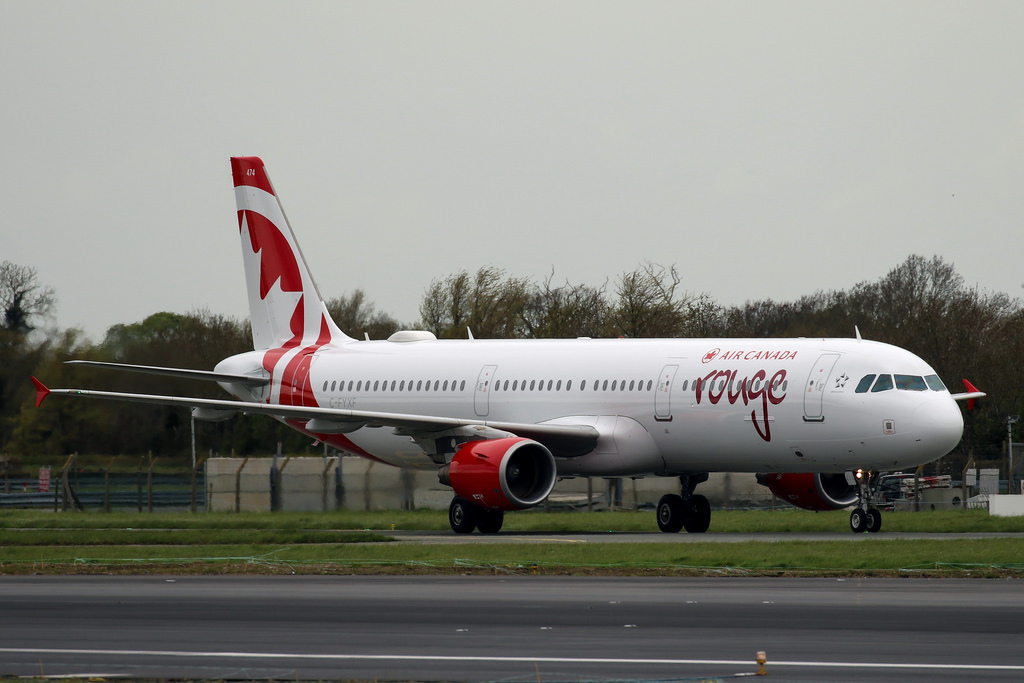 C FYXF Airbus A321 211 Air Canada Rouge leased from Aviation Capital Group narrowbody aircraft photos