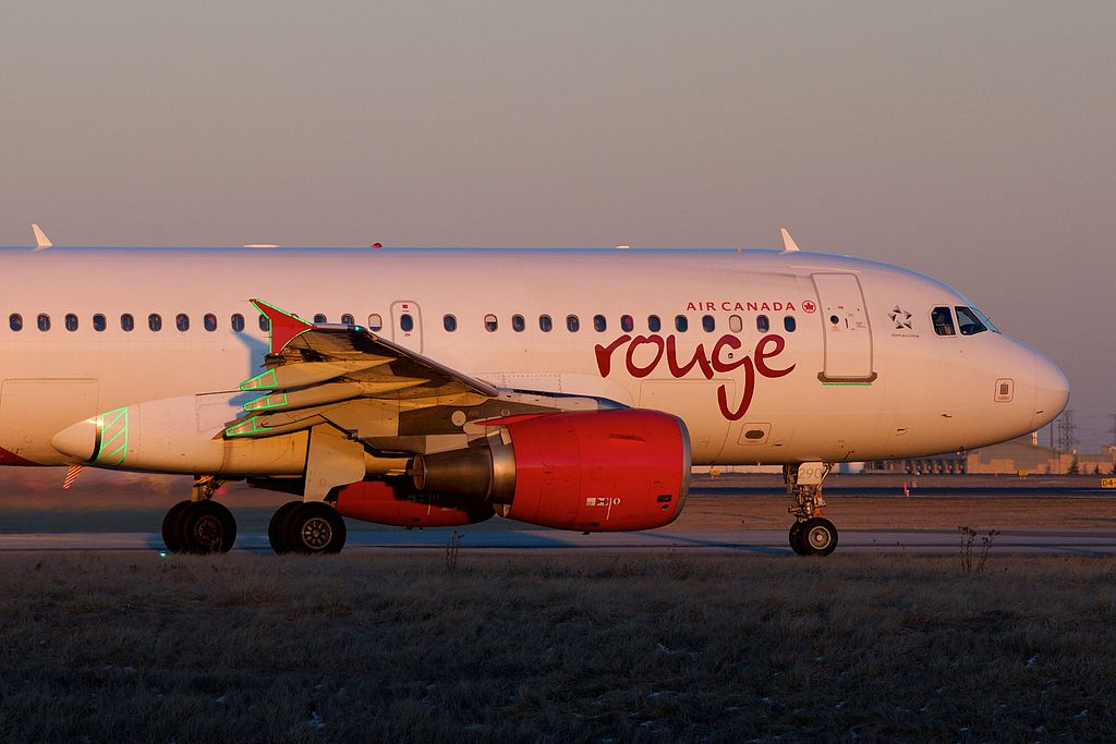 C GITR Air Canada Rouge Airbus A319 100 Narrowbody aircraft Photos
