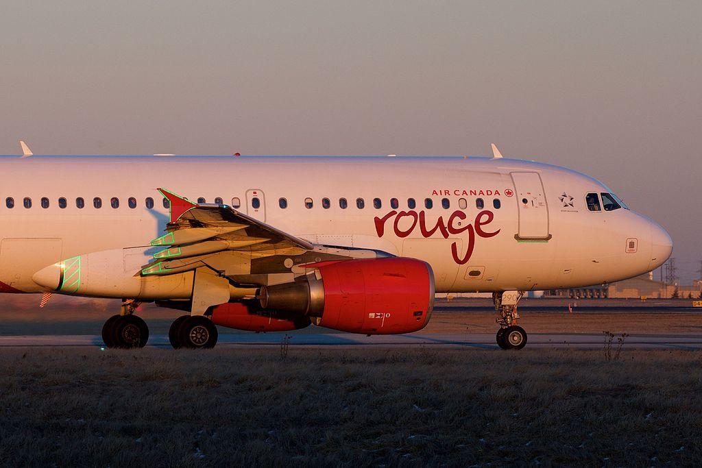 C GITR Air Canada Rouge Airbus A319 100 Narrowbody aircraft Photos