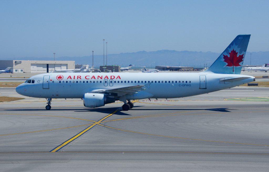C GPWG Airbus A320 200 Air Canada at San Francisco International SFO