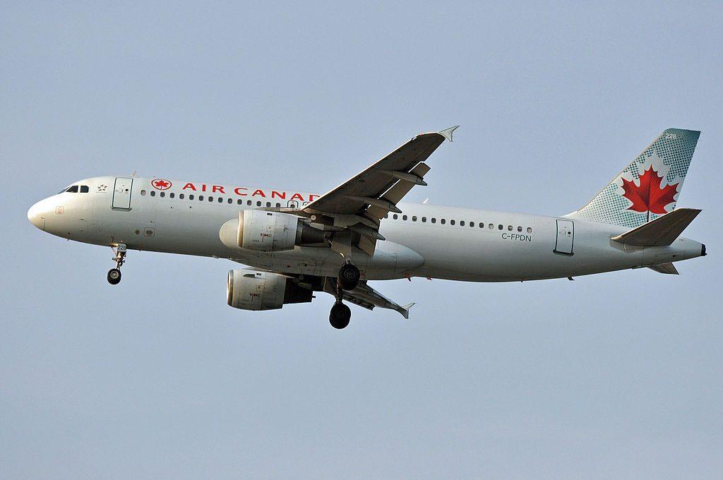 MSN 341 A320 211 AIR CANADA C FPDN YVR AIRPORT