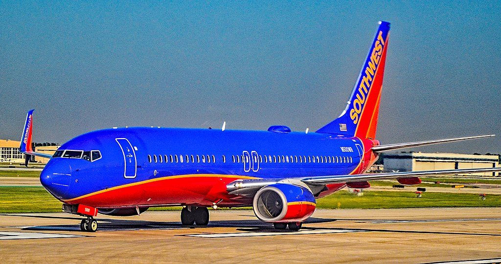 N500WR Southwest Airlines Boeing 737 8H4 at Chicago Midway International Airport