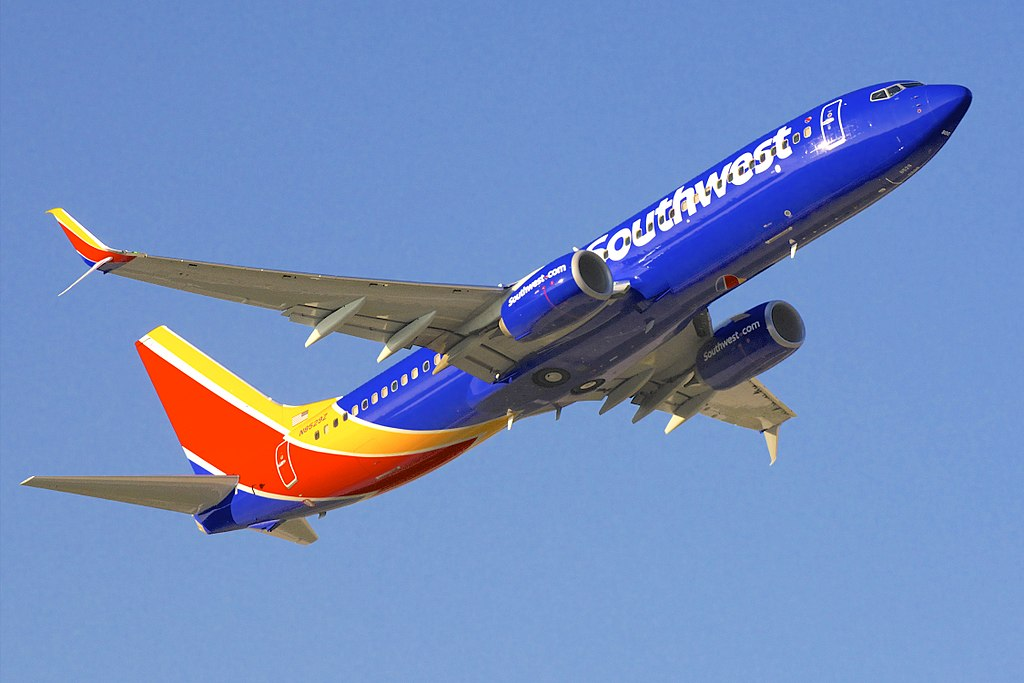 N8529Z Southwest Airlines Boeing 737 800 departing Baltimore Washington International Thurgood Marshall Airport BWI