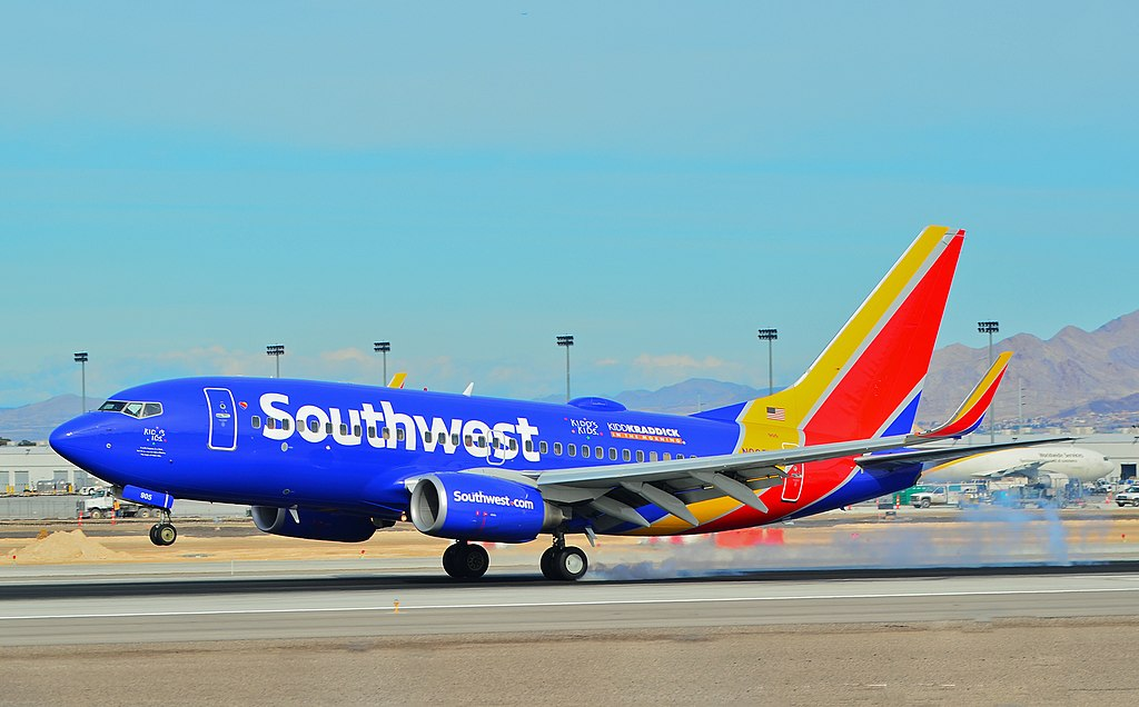 N905WN Southwest Airlines Boeing 737 7H4 cn 36617 22Kidds Kids22 22Kiddkraddick in The Morning22 at McCarran International Airport LAS KLAS