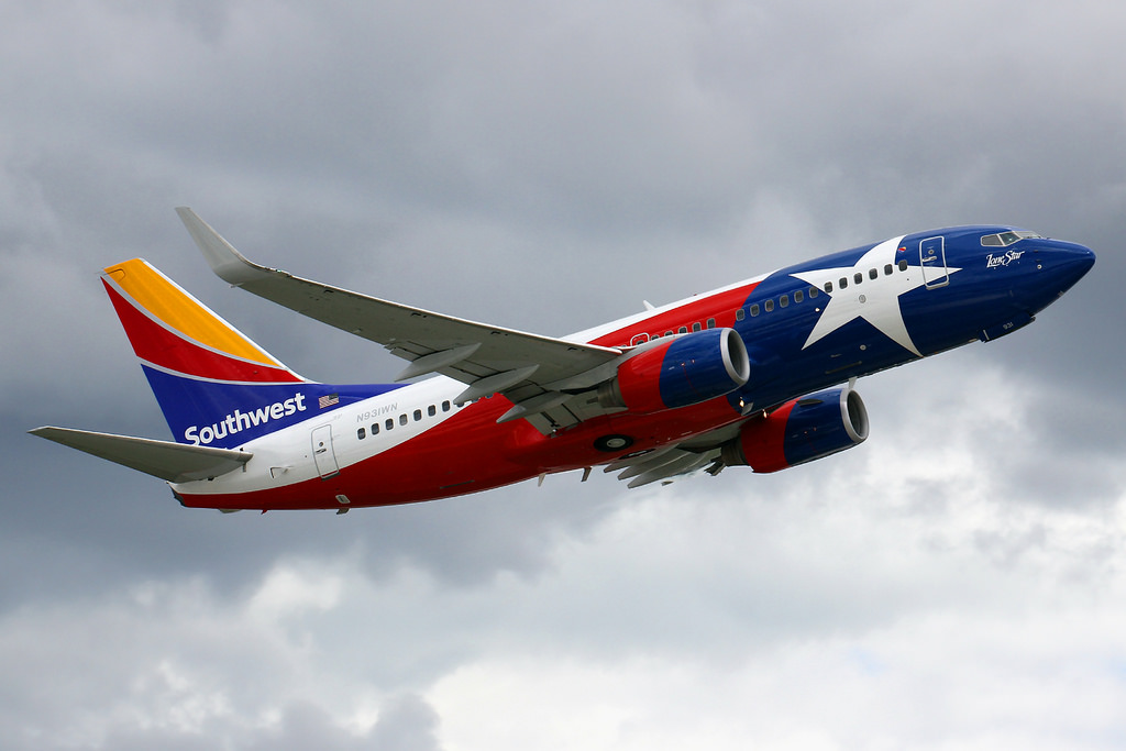 N931WN Boeing 737 7H4W Southwest Airlines Aircraft Lone Star One Special Livery Photos