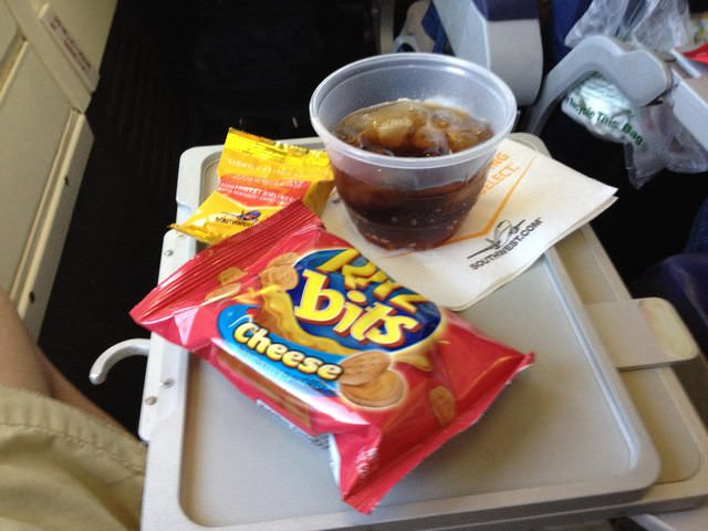 Southwest Airlines Boeing 737 700 Economy Cabin Inflight Beverages Snacks and Drinks Services