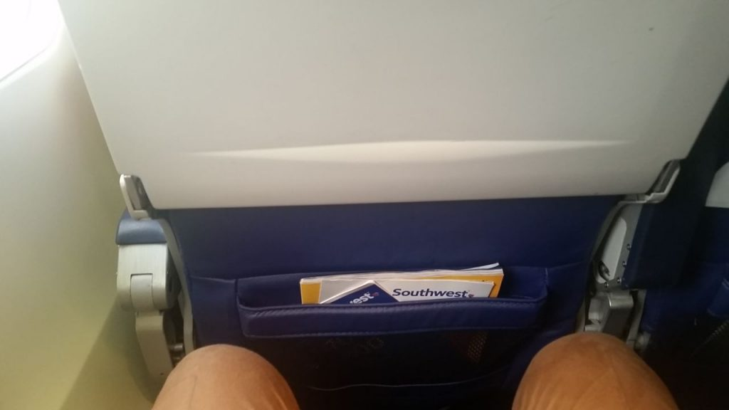 Southwest Airlines Boeing 737 700 Economy Cabin Interior Standard Coach Seats Pitch Legroom Photos