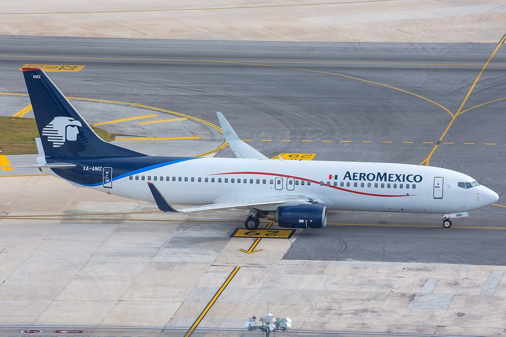 AeroMexico Aircraft Fleet Boeing 737 800 XA AMZ Photos
