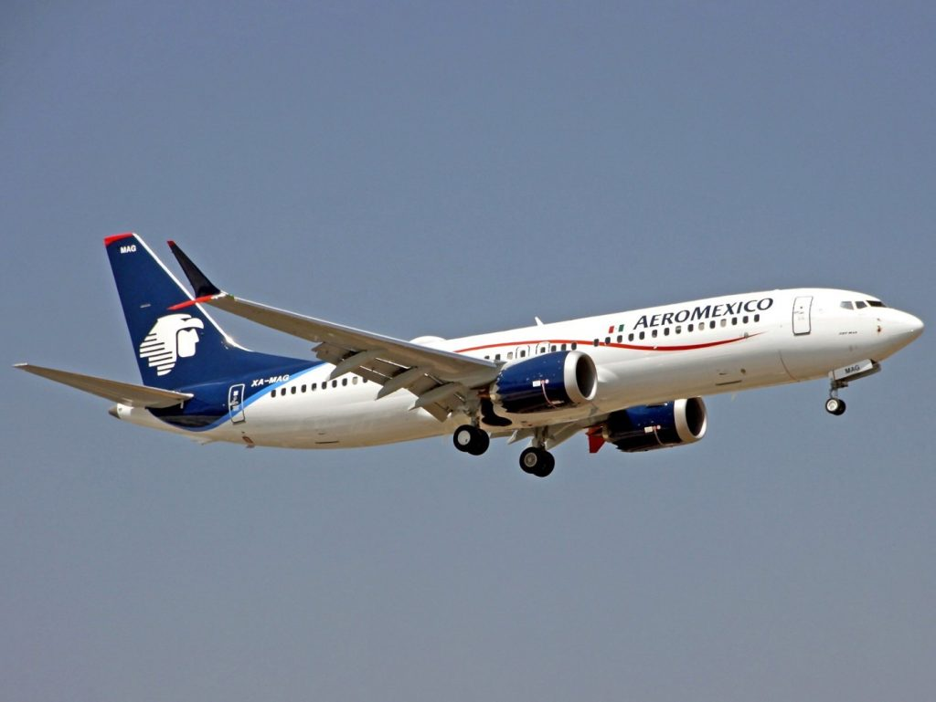 Aeromexico Aircraft Fleet Boeing 737 Max 8 XA MAG Photos