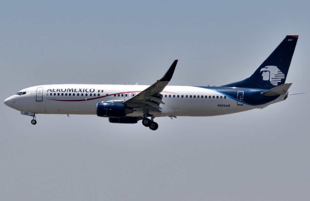 Aeromexico Boeing 737 8Q8 N858AM Aircraft Photos