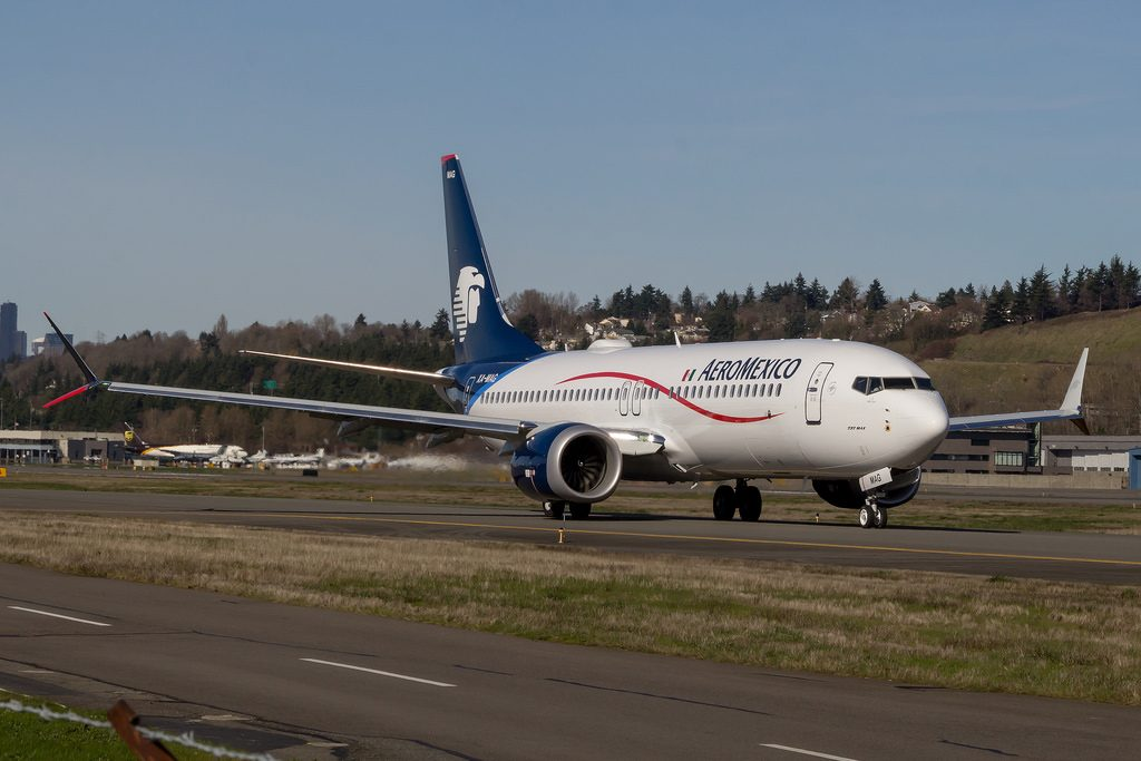 Aeromexico Boeing 737 Max 8 XA MAG narrowbody aircraft photos