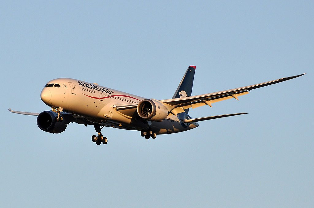 Aeromexico Boeing 787 8 Dreamliner N783AM at Paris Charles de Gaulle Airport