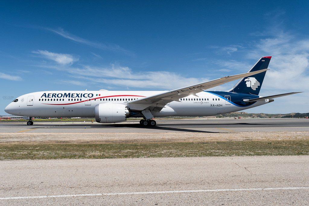 Aeromexico XA ADH Boeing 787 9 Dreamliner Photos