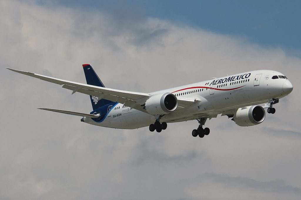 Aeromexico XA ADH Boeing 787 9 Dreamliner at New York JFK