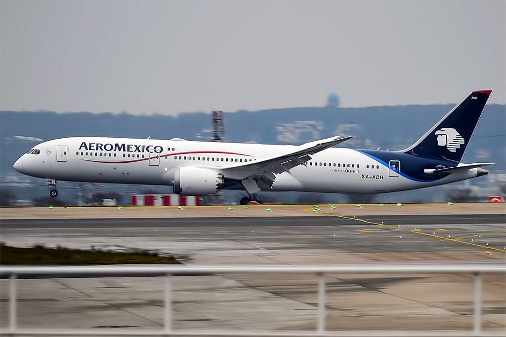Aeromexico XA ADH Boeing 787 9 Dreamliner at Paris Charles de Gaulle Airport LFPG CDG
