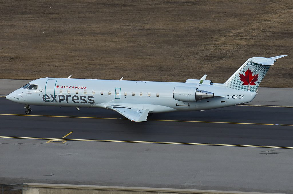 Air Canada Express Air Georgian C GKEK Bombardier Canadair CRJ 200ER at Toronto Lester B. Pearson International