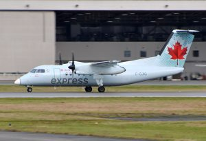 Air Canada Express C GJIG Bombardier Dash 8 100 Turboprop Aircraft Photos