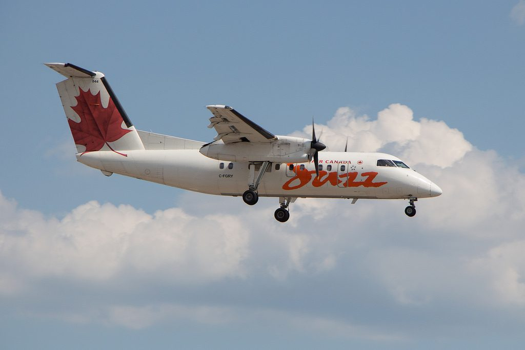 Air Canada Express Jazz C FGRY Bombardier De Havilland Dash 8 100 Turboprop Aircraft Photos