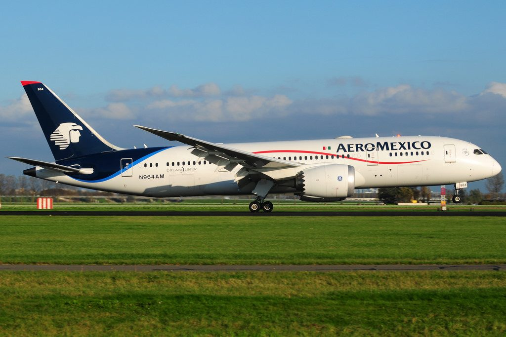 Boeing 787 8 Dreamliner Aeroméxico N964AM at Amsterdam Schiphol AMS EHAM