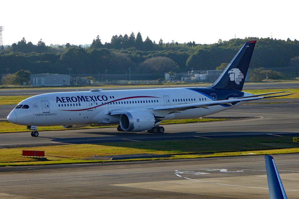 Boeing 787 8 Dreamliner Aeromexico XA AMR Ciudad de México at NRT Tokyo Narita Airport