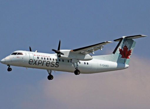 C GABO Bombardier DHC Dash 8 311 Air Canada Express Jazz Air at YVR