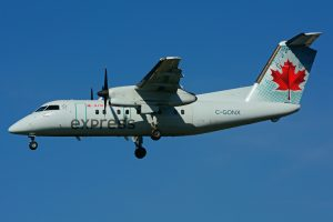 C GONX de Havilland Canada DHC 8 102 Dash 8 Air Canada express operated by JAZZ Aviation at Toronto Lester B. Pearson Airport YYZ