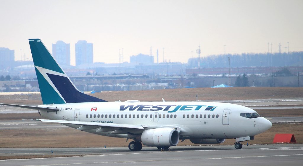 C GWSL WestJet Boeing 737 600NG at YYZ departing for MIA