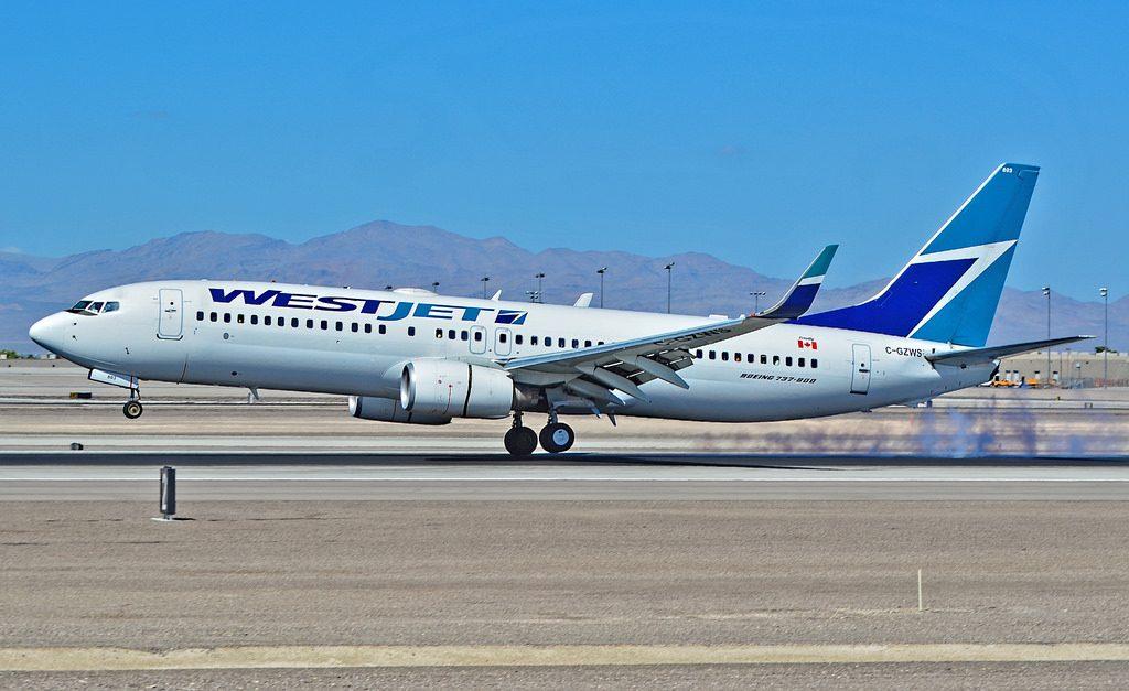 C GZWS Westjet Boeing 737 8CT cn 32770 Las Vegas McCarran International Airport LAS KLAS