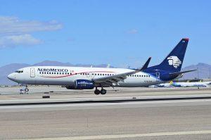 N342AM Aeroméxico Boeing 737 8Z9WL cn 34262 at Las Vegas McCarran International