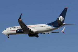 N825AM Aeromexico Aircraft Fleet Boeing B737 852 at LAS Airport