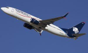 N845AM Aeroméxico Boeing 737 852WL departing Denver International Airport